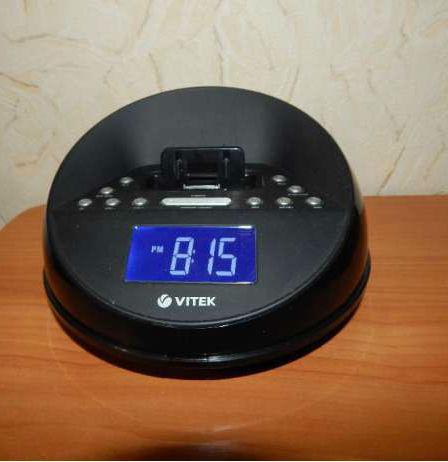 Радиочасы Vitek